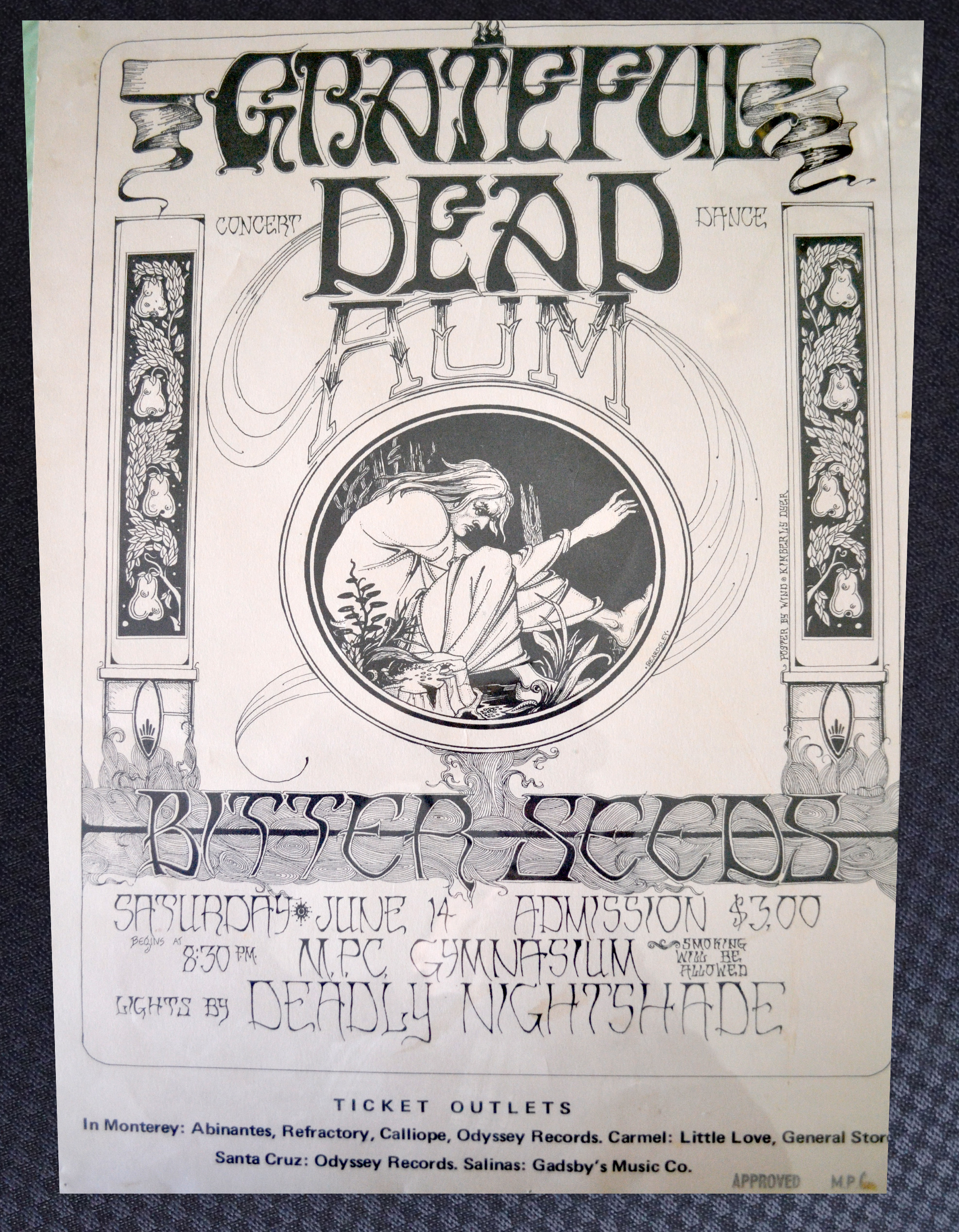 Grateful Dead, Bitter Seeds Handbill
