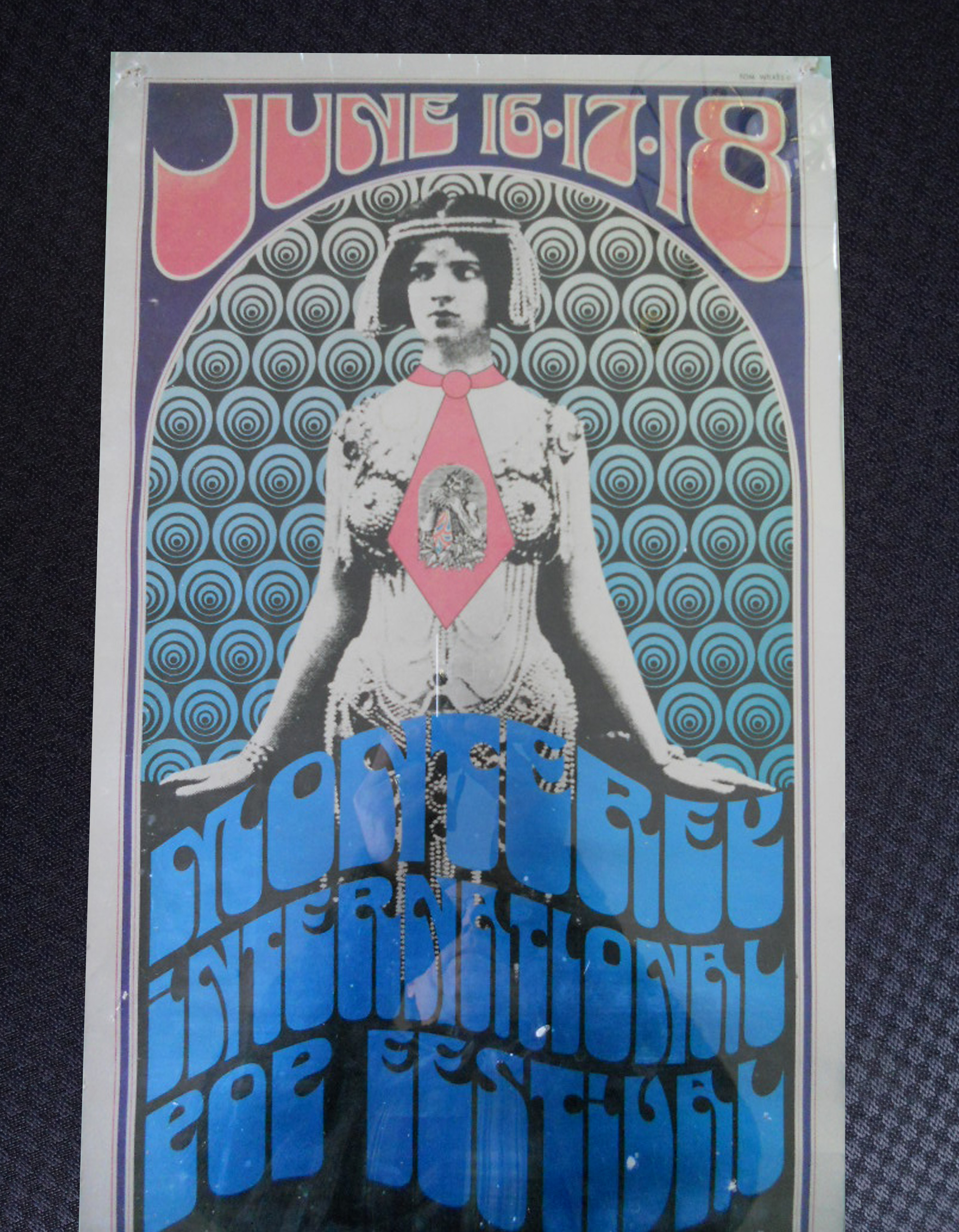 Monterey International Pop Festival Handbill