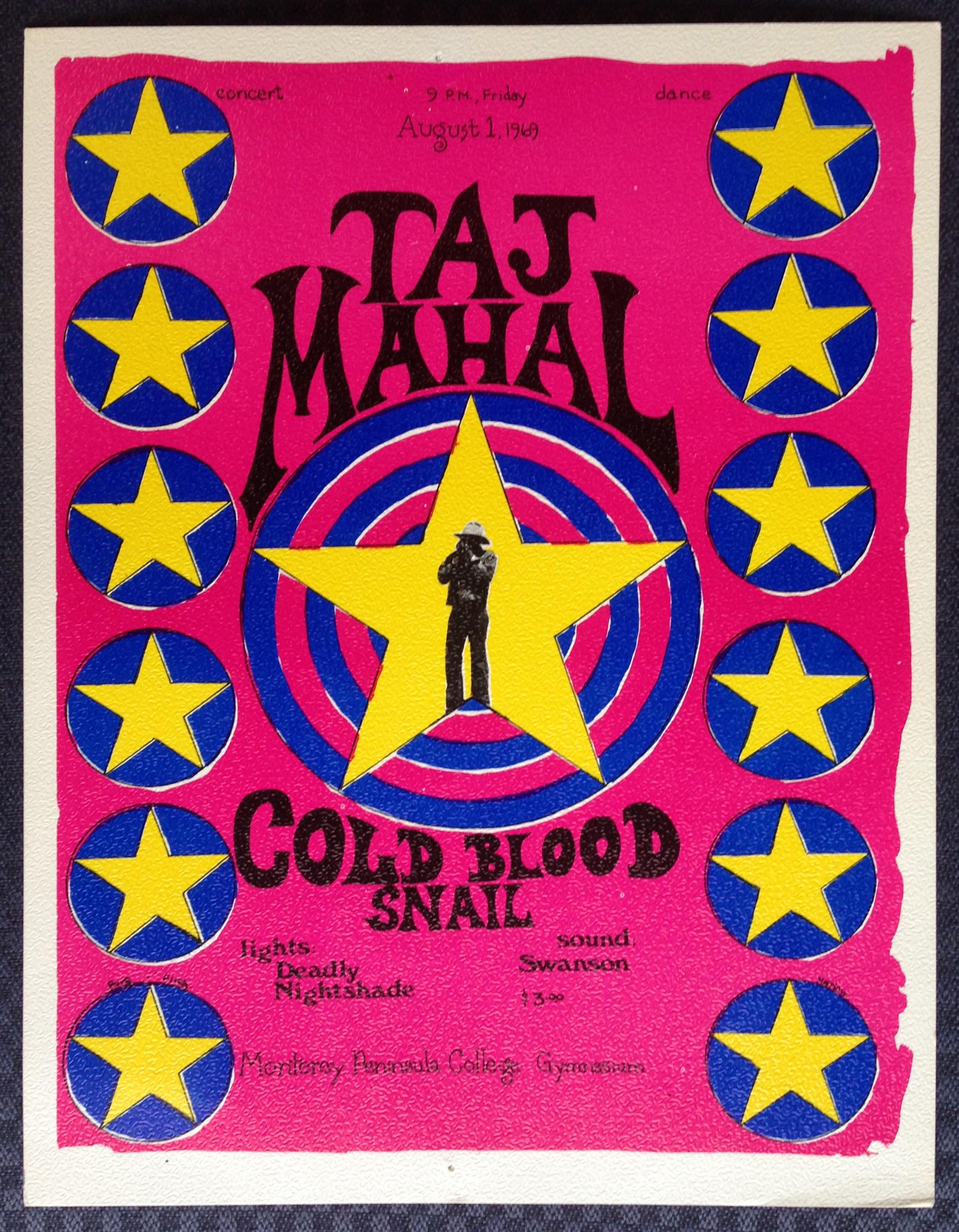 Taj Mahal & Cold Blood Snail